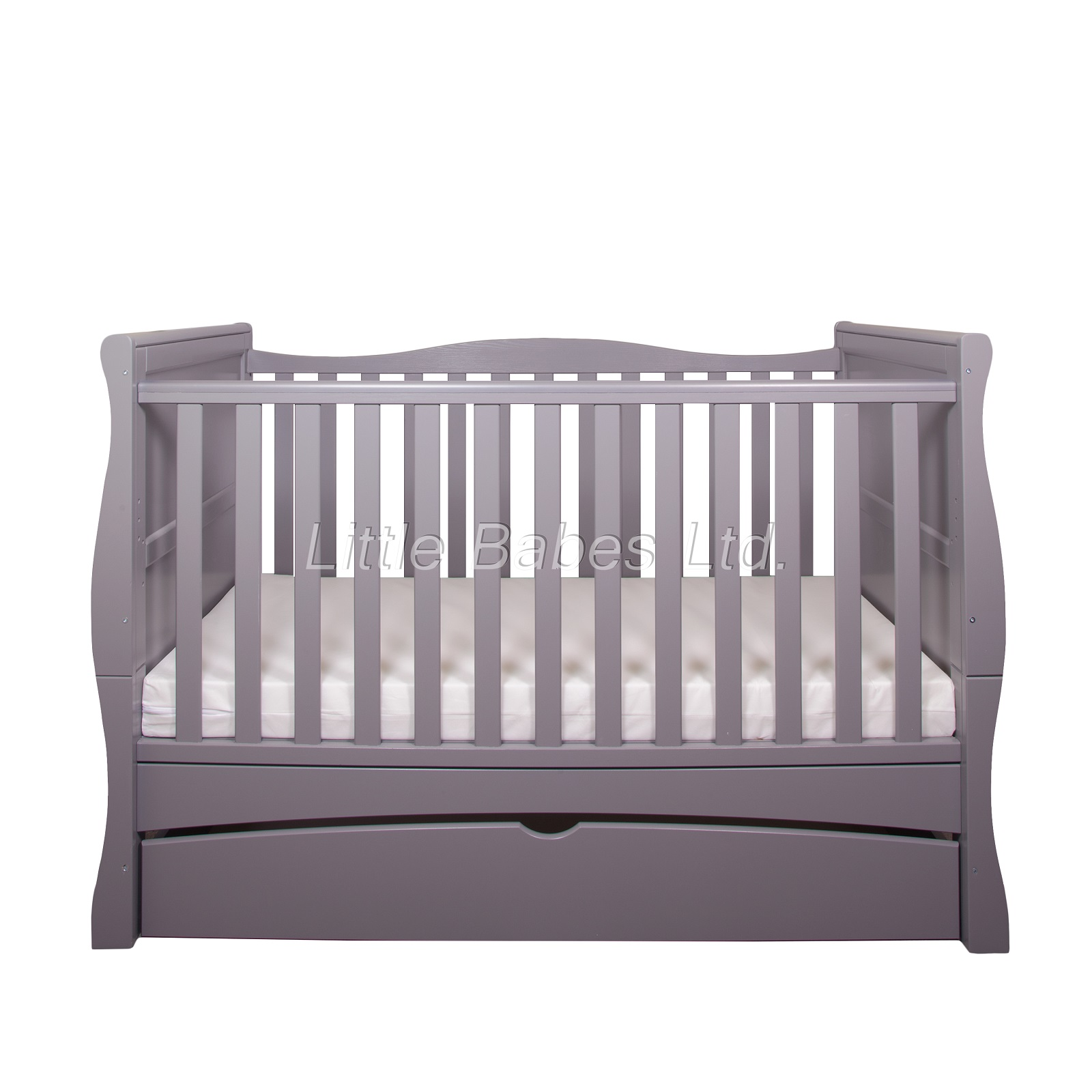 Grey Cot Bed for your Baby
