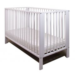 Folding Cot (White) - OUT OF STOCK