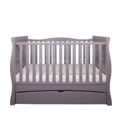 Mason Cot Bed (Grey) PRE ORDER - item due in stock around 27.05.2021