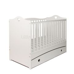 Imogen Cot Bed (White) PRE ORDER - item due in stock around 27.05.2021