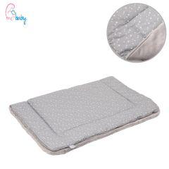 Blanket 75x100cm (baby stars/grey)