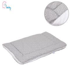 Blanket 75x100cm (baby stars/white)