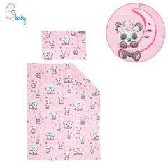 Duvet Set Cover 100x135cm (sweet pink panda)