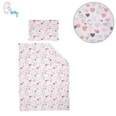 Duvet Set Cover 100x135cm (love hearts)