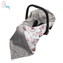 Baby Wrap For Car Seat (grey/dream catcher)