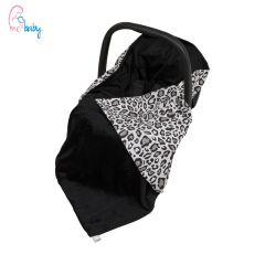 Baby Wrap For Car Seat (black/panther)