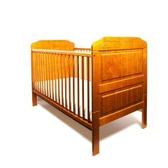 Stanley Cot Bed (Antique Pine)