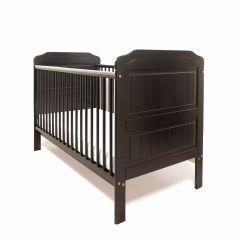 Stanley Cot Bed (Black)