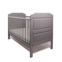 Stanley Cot Bed (Grey) PRE ORDER - item due in stock around 27.05.2021